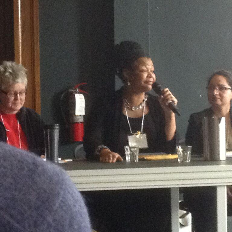 Djanet Sears in Equity in Theatre's Panel