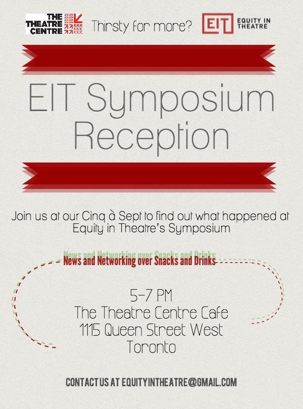 EIT Reception Poster