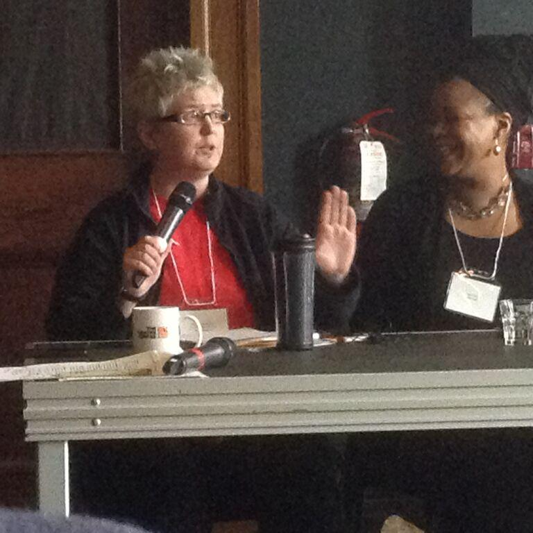 Michele Decottignies in Equity in Theatre's Panel