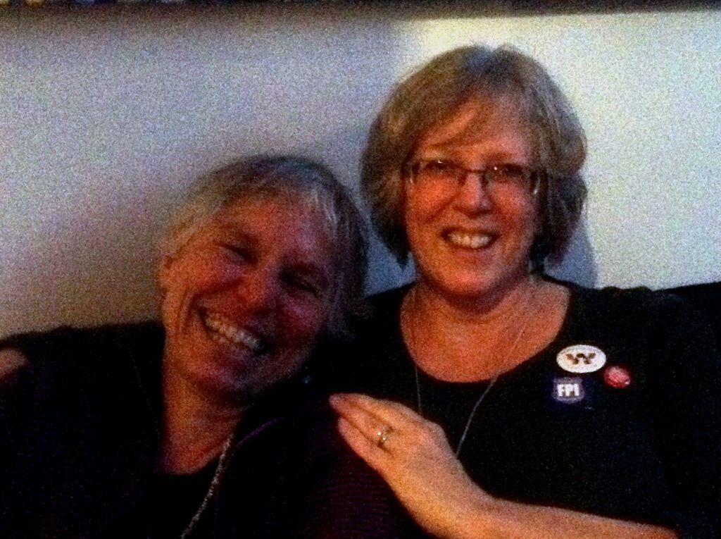 Martha Ross and Jennie Webb