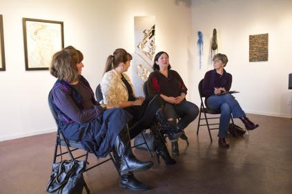 Michele Fleiger, Dr. Cristina Stasia, Mieko Ouchi, Conni Massing
